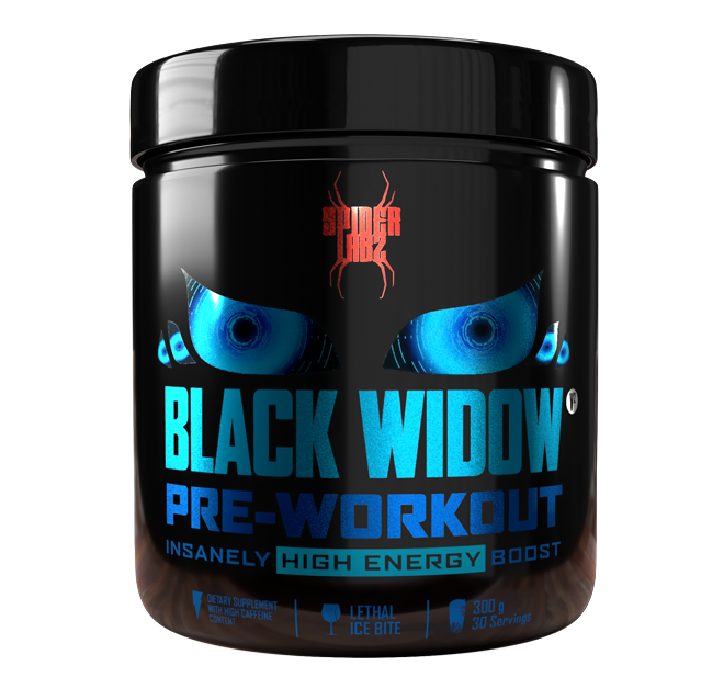 Muscle Shop | Spider Labz Black Widow Pre-Workout 300g